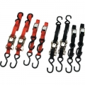 Ancra Quad Pak, 2-Originals + 2 Ratchet Tie downs, Black