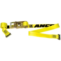 Ancra Tension-Limiting Series E Heavy Duty Ratchet Buckle Strap-20', 49021-32