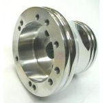 Billet Hub For Polaris RZR, RZR XP, Arctic Cat Wild Cat, for use with Momo Steering Wheel