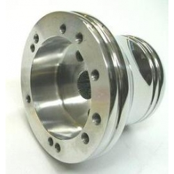 Billet Hub For Yamaha Rhino, Can Am Maverick, for use with Momo Steering Wheel