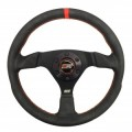 MPI F 13 inch High Grip Formula Steering Wheel with Billet Center Cover