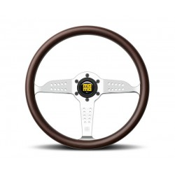 MOMO Heritage Grand Prix Steering Wheel, 350mm, Mahagony Wood