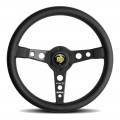 MOMO Prototipo Heritage Black Steering Wheel, 350mm
