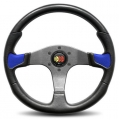 MOMO Devil Steering Wheel, 350mm Blue