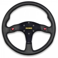 MOMO MOD 80 Steering Wheel, 350mm Leather