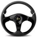 MOMO NERO Steering Wheel, 350mm Leather NER35BK0B