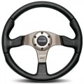 MOMO Race Steering Wheel, 350mm Leather