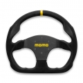 MOMO MOD 30 Steering Wheel, 320mm Suede, Flat Bottom