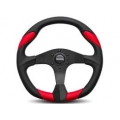 MOMO Quark Red Steering Wheel, 350mm