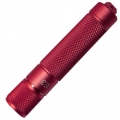 PowerTac E3 LED Keychain Flashlight, Red with CREE XP-E LED 90 Lumens-Uses 1 x AAA
