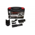 "PowerTac Flashlight Warrior ""Reloaded"" Gen 2 Rechargeable Kit, 850 Lumens CREE XM-L2 LED"